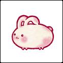 餅ウサギのデジタル時計 icon