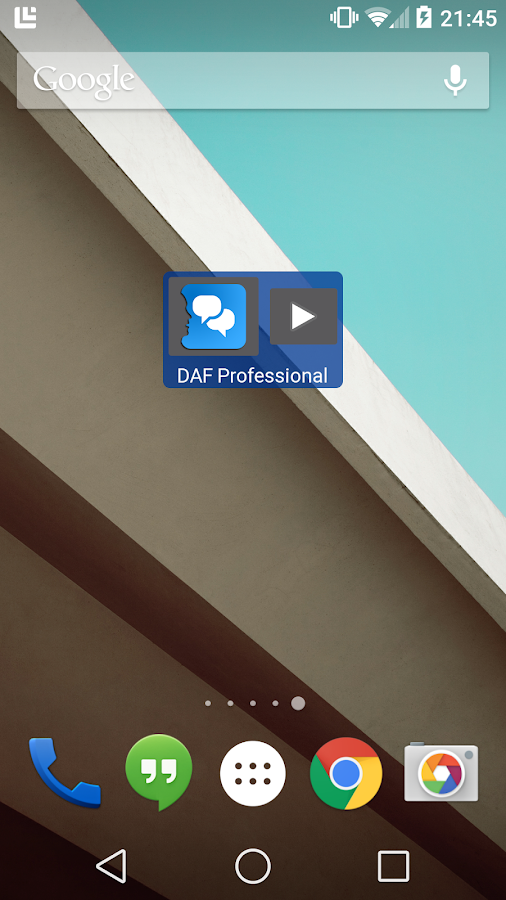 DAF Professional- screenshot