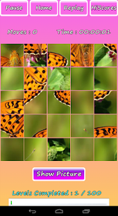 Butterfly Photo Puzzle Screenshot 15