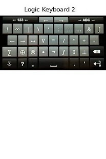 Logic Symbols Keyboard- screenshot thumbnail