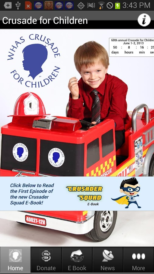 WHAS Crusade for Children - screenshot