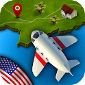 GeoFlight USA: Geography icon
