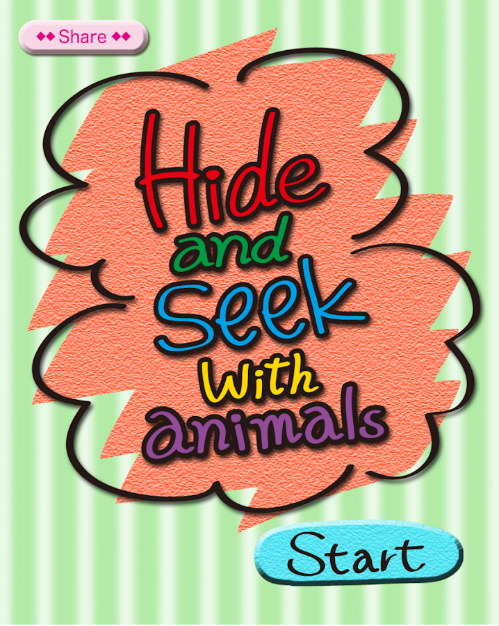Hide & Seek with animals[Kids]- screenshot