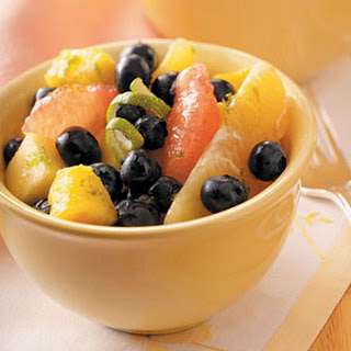 Vanilla-Lime Fruit Salad.