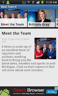 WLNS TV 6 Lansing - Jackson - screenshot thumbnail