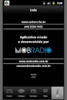 Screenshot of Cultura FM / Maringa / Brazil