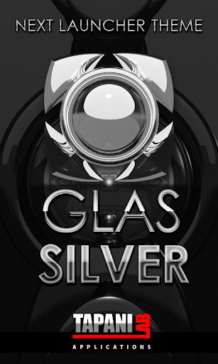 Next Launcher Theme g. silver