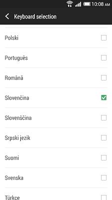 HTC Sense Input-SK - screenshot