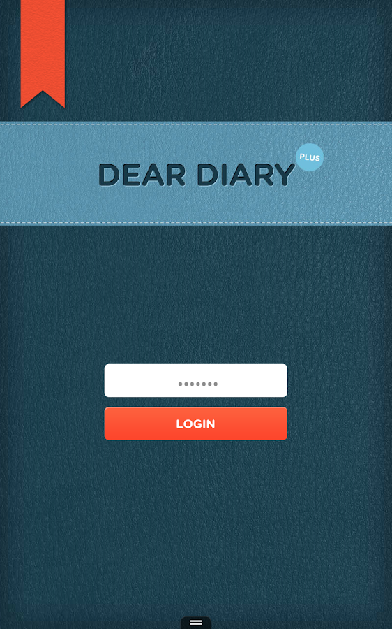 Dear Diary Plus- screenshot