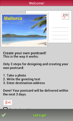 JustSend - Postcard Greetings