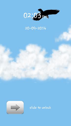 Cloudy Weather Screen Lock
