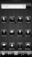 Screenshot of ADW Theme Black Gloss2