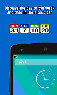 Date Statusbar- screenshot thumbnail