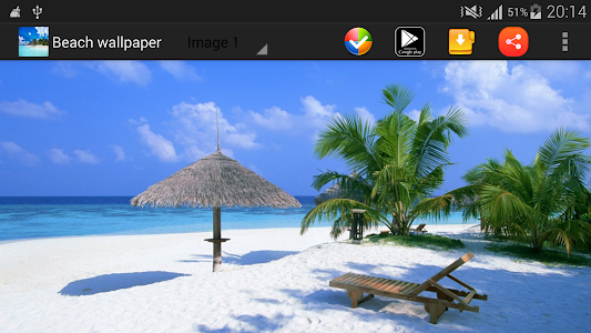 Beach Wallpaper screenshot 2