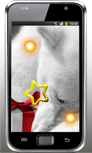 Cristmas Bear live wallpaper