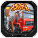 Heavy Truck 3D Cargo Delivery icon