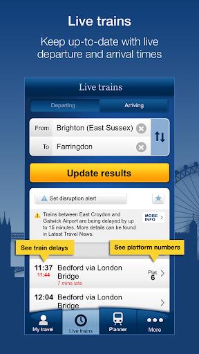 National Rail Enquiries  screenshots 1