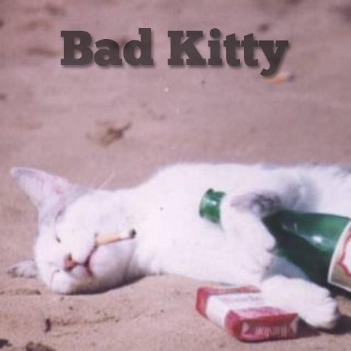 Bad Kitty Theme for Go SMS Pro LOGO-APP點子