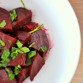 Moroccan Beet Salad With Cinnamon.