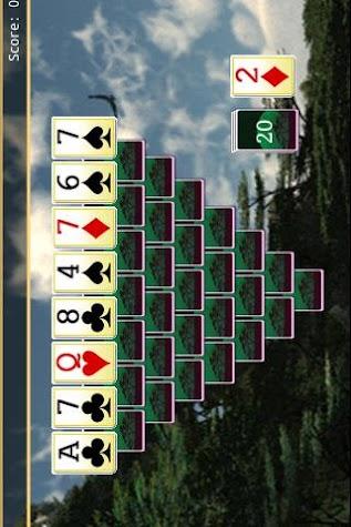 Wild Tripeaks Screenshot