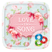 Love Song GO Launcher Theme
