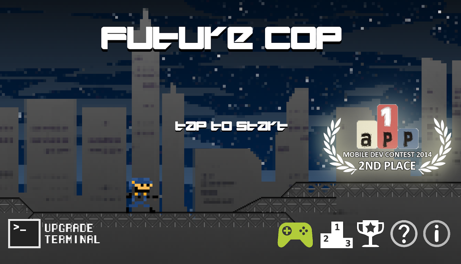 FutureCop - Run and Gun- screenshot