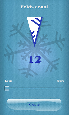 Make Snowflake - screenshot