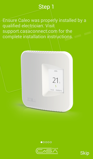 Caleo Connected Thermostat