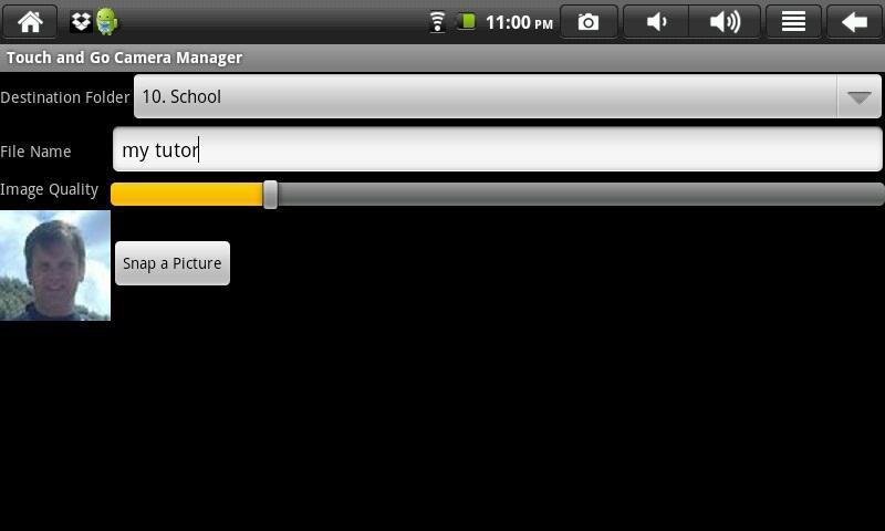 Touch and Go - Speak- screenshot