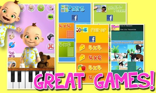 Talking Babsy Baby Deluxe Screenshot