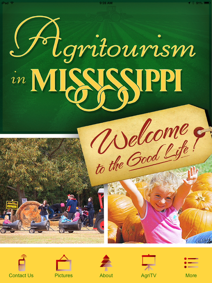 Agritourism In Mississippi- screenshot