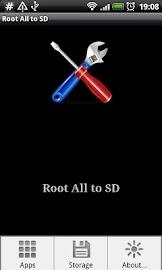 Root # All Data2SD card. Screenshot 3