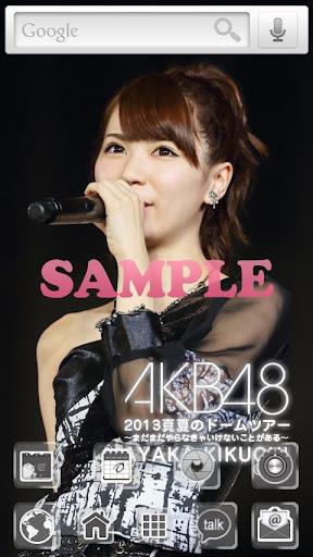AKB48きせかえ 公式 菊地あやか-DT2013-