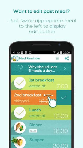 Meal Reminder - Weight Loss  screenshots 4