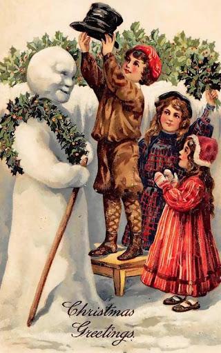 Winter Holidays Vintage HD LWP