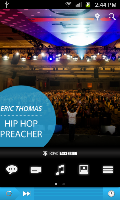 Eric Thomas- screenshot
