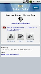 Brandon Directory Yellow Pages- screenshot thumbnail