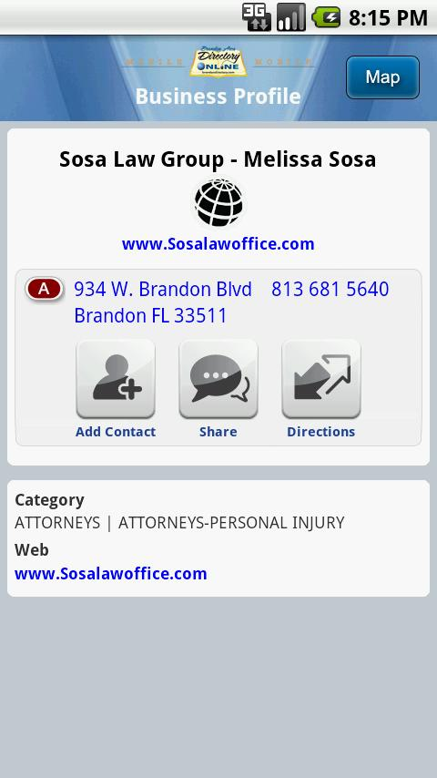 Brandon Directory Yellow Pages- screenshot