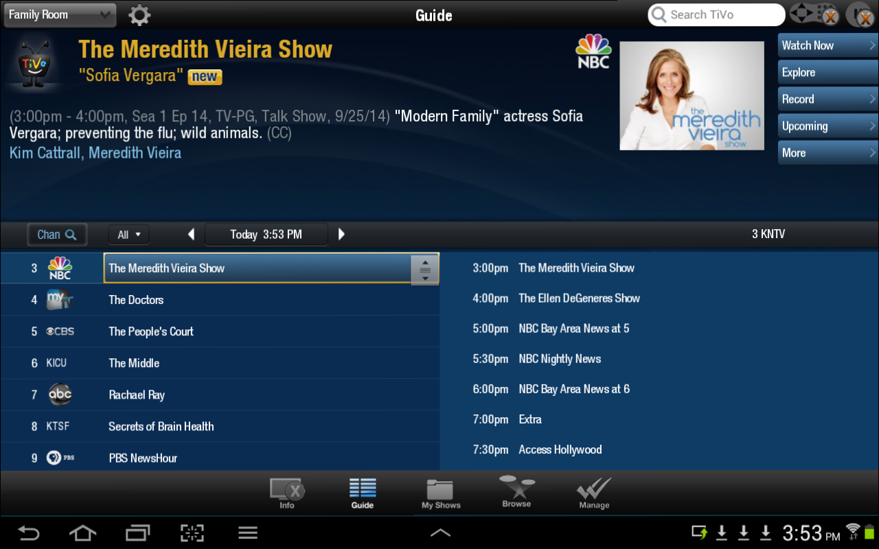 TiVo - screenshot