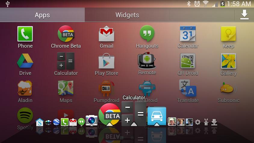 Dial Dock Screenshot