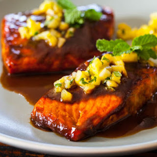 Salmon Teriyaki.
