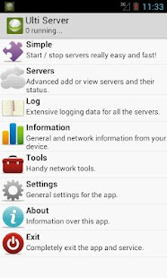 Ulti Server: PHP, MySQL, PMA - Android Apps on Google Play