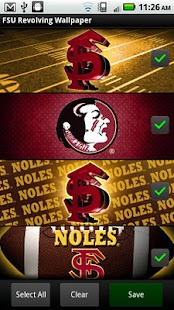 FSU Seminoles Revolving WP - screenshot thumbnail