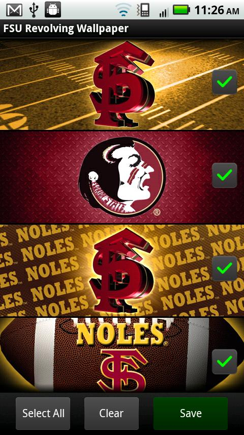 FSU Seminoles Revolving WP - screenshot