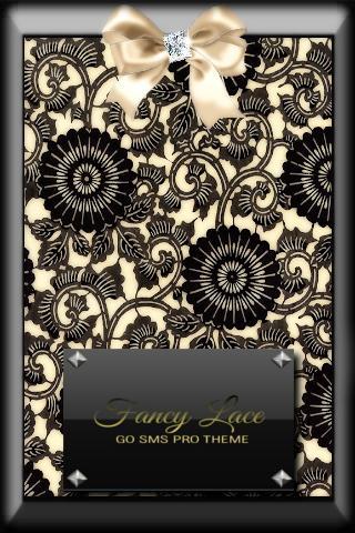 Fancy Lace GO SMS Pro Theme
