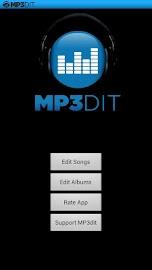MP3dit - Music Tag Editor Screenshot 1