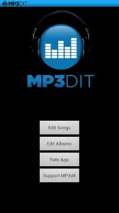 MP3dit - Music Tag Editor - screenshot thumbnail