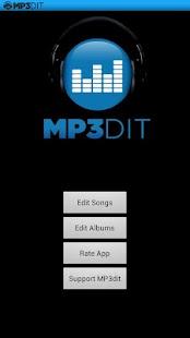 MP3dit - Music Tag Editor- screenshot thumbnail