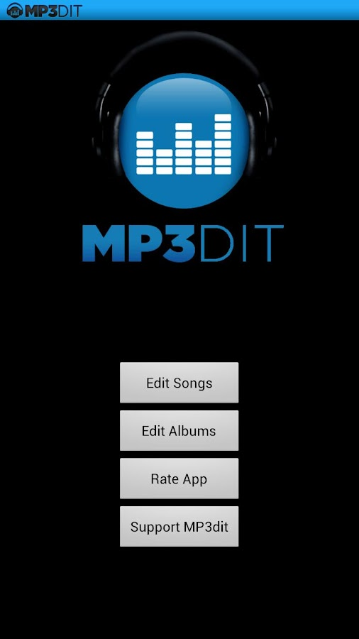 MP3dit - Music Tag Editor - screenshot