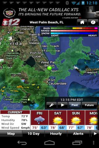 WPEC WX - screenshot